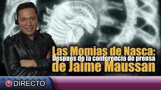Las Momias de Nazca, después de la conferencia de prensa