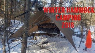 Winter Hammock Camping 2018, Hammock Gear, Warbonnet.