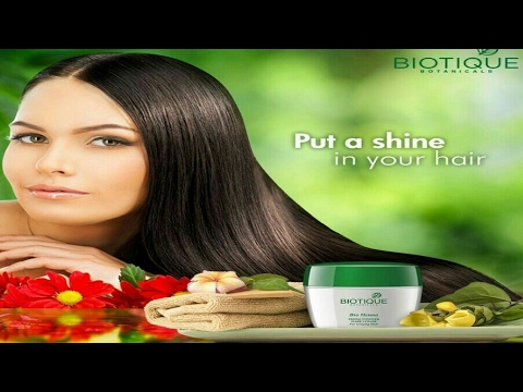 Biotique Bio Henna Fresh Powder Hair Color Product Review Youtube