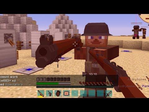 Minecraft - Flans Mod TDM Server Restored