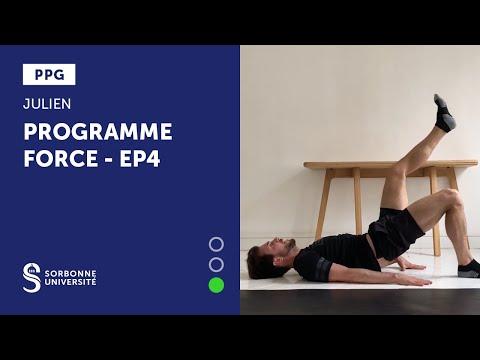 PPG - PROGRAMME FORCE EP4 - JULIEN