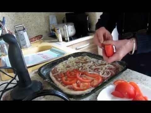 Открытый мясной пирог - кулинарный рецепт
