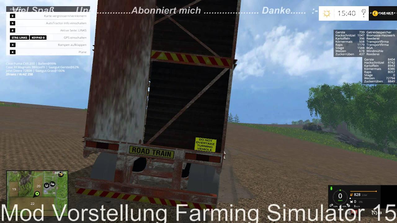 Mod Vorstellung Farming Simulator 15 : Viehtrailer In 1.0
