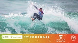 Gilmore vs. Manuel vs. Ho - Seeding Round, Heat 6 - MEO Rip Curl Pro Portugal W 2019