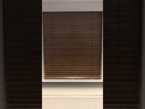 Wooden Venetian Blinds   Showroom   Somfy RTS