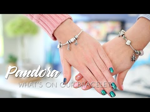 What's on our Pandora Bracelets? | Charms & Stories