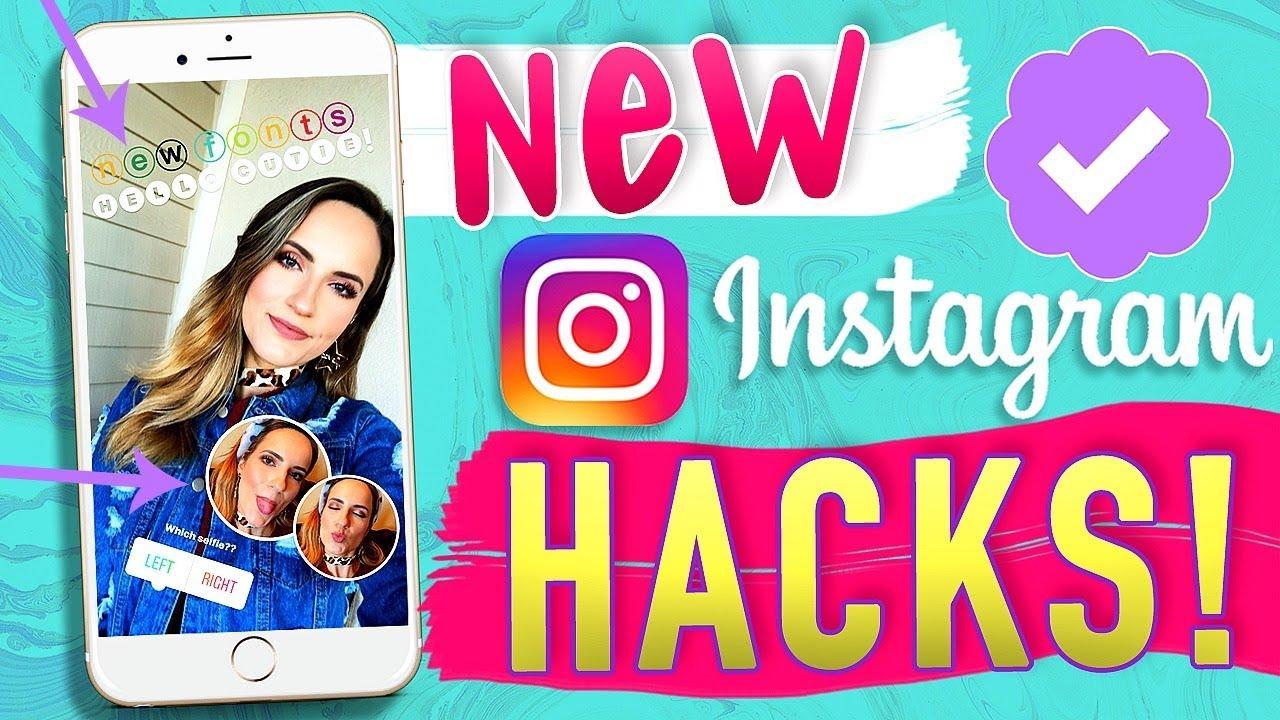 10 Instagram Story Hacks!! Change Fonts + Rainbow Text!