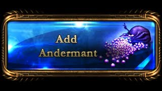Drakensang Online - How to make 1000 andermant?