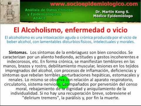 Aconsejen la clínica para la codificación del alcoholismo