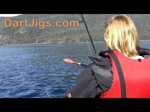 Catching Rockfish From A Kayak In Southeast Alaska With Dart Jigs