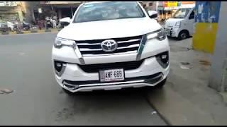 Toyota Fortuner Tithium Tithum TF1 Bodykit / Modification / Citycar.pk