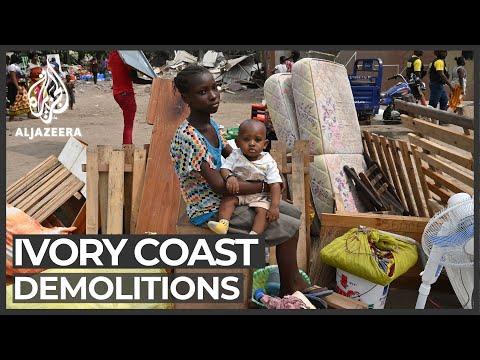 Al Jazeera English: Ivory Coast demolitions: Shanty town near airport cleared