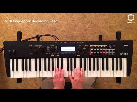 KORG KROSS #4 | MIDI Sequencer