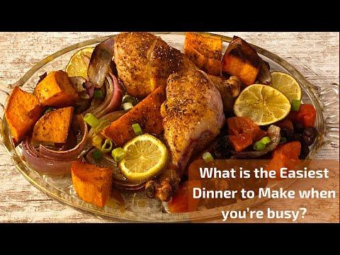 Easiest Low Carb Dinners- Jerk Chicken Sheetpan (Traybake) Dinner