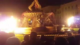 Sant'Antonio Abate, a Giovinazzo spettacolo di luci e fuoco