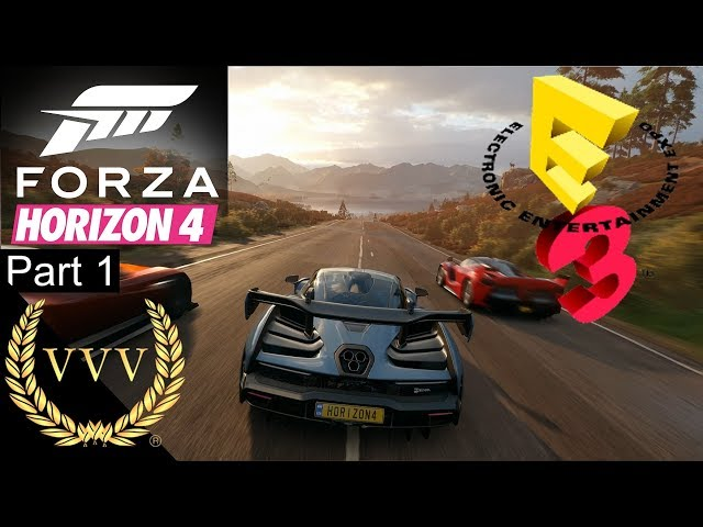Forza Horizon 4 Gameplay Part 1 E3 2018