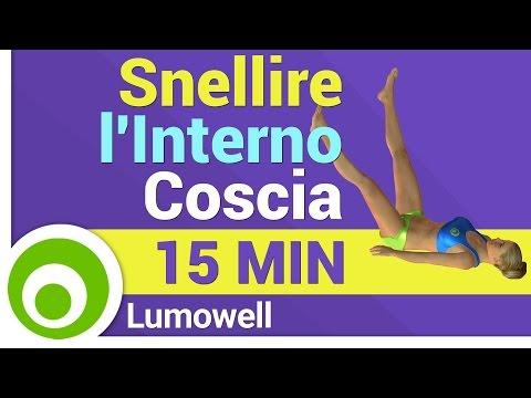 Esercizi per Snellire l'Interno Coscia