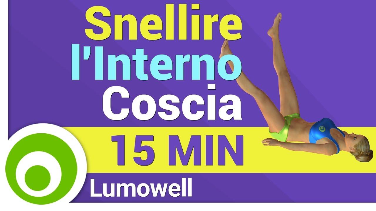 Esercizi per snellire l 39 interno coscia youtube for Dimagrire interno coscia benessere 360