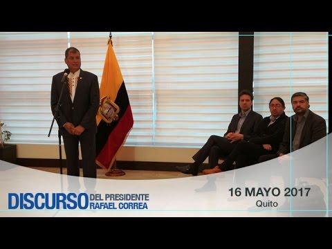 Salida del Presidente Rafael Correa hacia Buenos Aires, Argentina