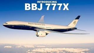 Boeing Launches BBJ 777X