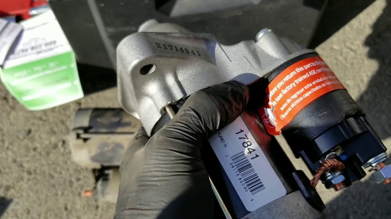 04 Toyota Corolla Starter Replacement
