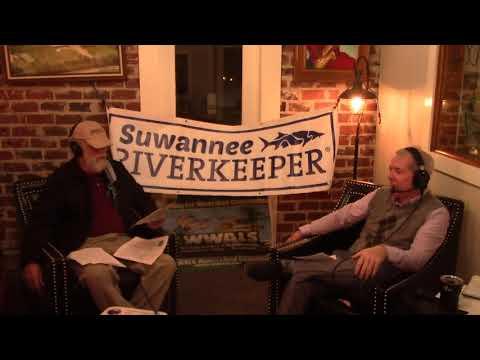 Clean Outflow from Valdosta WWTP --SuwRK, Scott James Radio 2020-12-14
