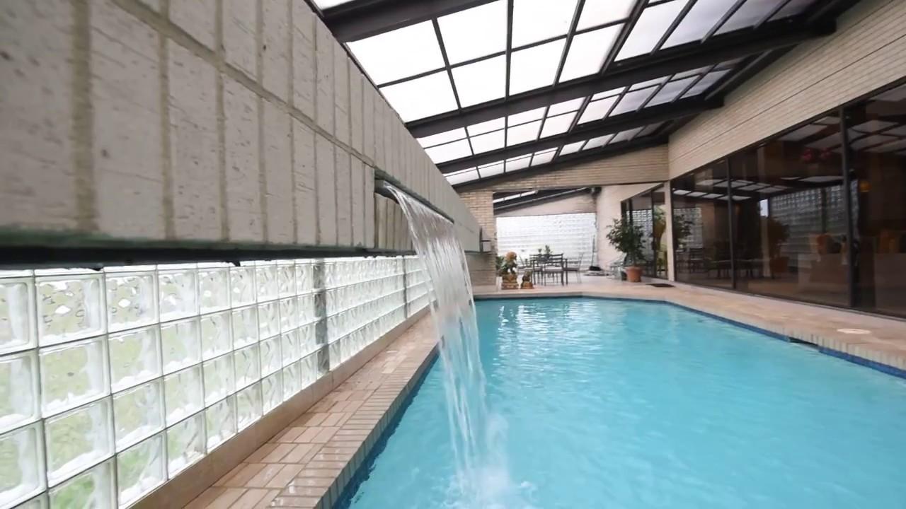 custom indoor pool @ 3717 rue chardonnay, metairie, la home for