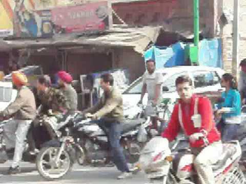 amritsar traffic.avi