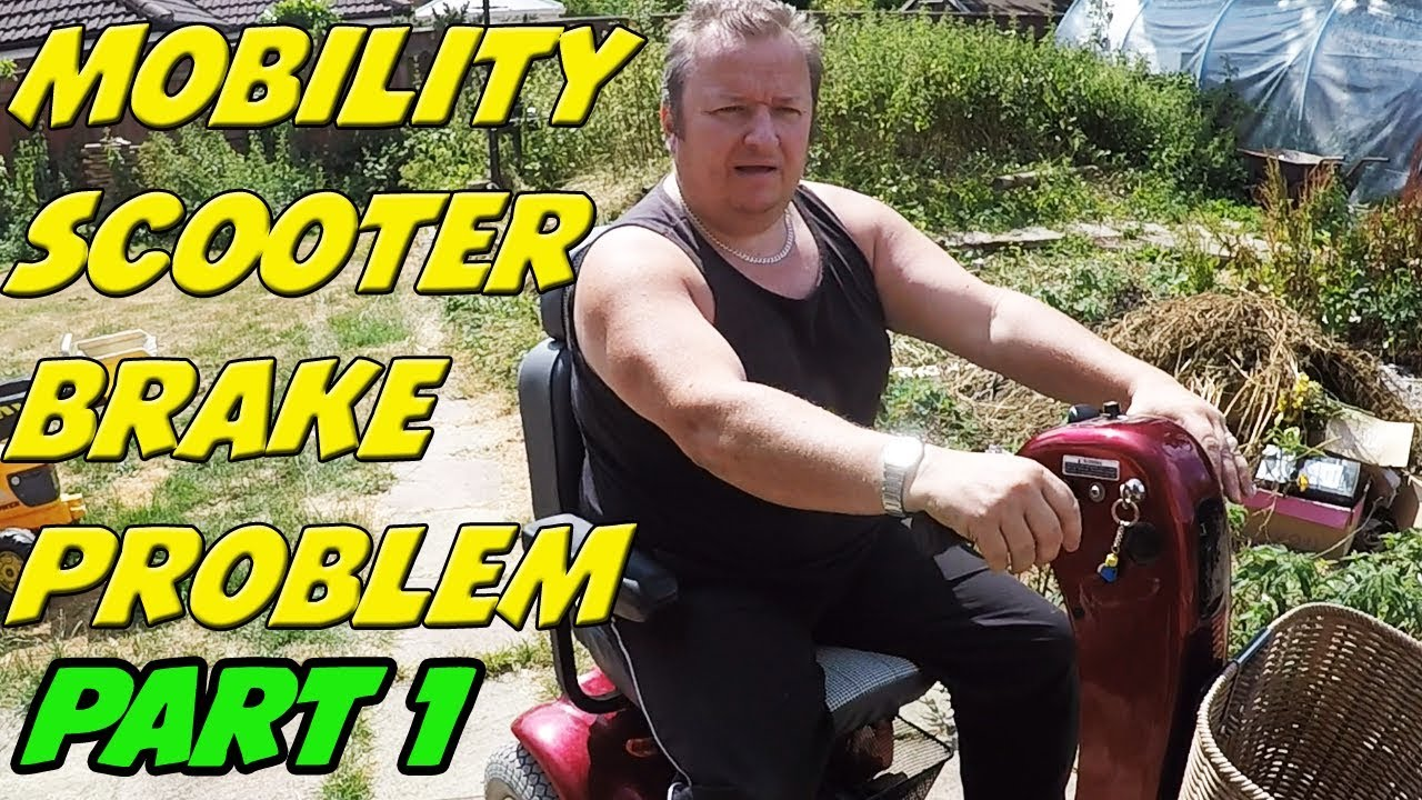 Part 1 Mobility Scooter Won T Work Motor Brake Problem Shoprider