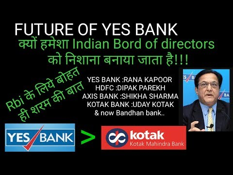 Reason Behind Yes bank share price falling, What Rana kapoor have rights to do now!!?