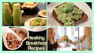 Healthy Breakfast Recipes! Thumbnail