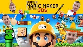 Domis qualvolle Reise durch Super Mario Maker 3DS