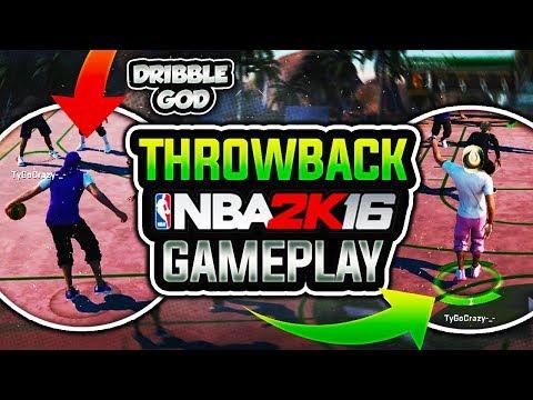 NBA 2k16 Throwback At MyPark w/ 1# Dribble God! R.I.P. Park Affiliations