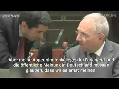 Hochverrat durch Wolfgang Schäuble