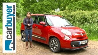 Fiat 500L MPV 2013 review - CarBuyer