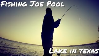 Summertime Bass Fishing on Joe Pool Lake
