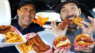 JOSH AND JOE TRY THE JUICIEST HOTTEST CHICKEN IN LA!!