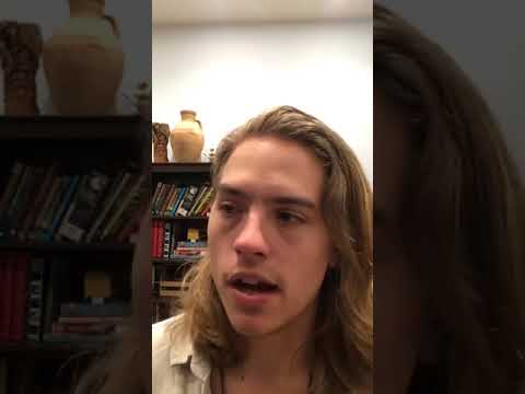 Dylan Sprouse Instagram Live 1/9/2017