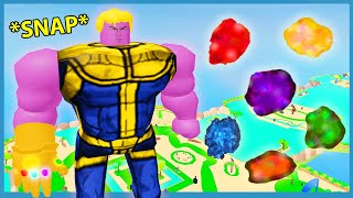 I Unlocked The Infinity Stones! Max Size & Muscles!   Roblox Lifting Simulator