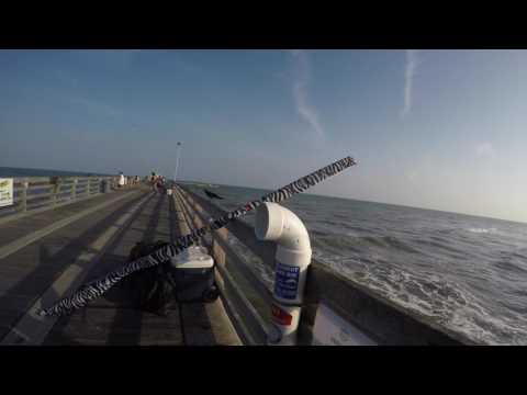 NEW FISHING PIER!!! Galveston,Tx       4K