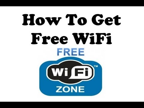 Get Free WiFi Internet Anywhere [How-To] [No-Hacking] [Legal] (V783) Digital Nomad Van Dweller