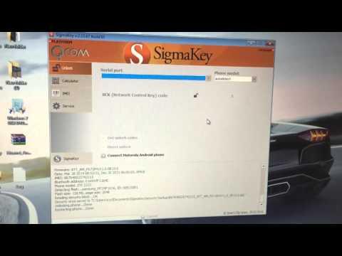 Unlocking ZTE Z222 using Sigmakey - YouTube