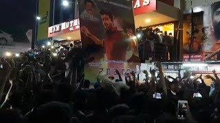 Thalapathi Fans sarkar Teaser Celebrations   Vijay   Sarkar Official Teaser