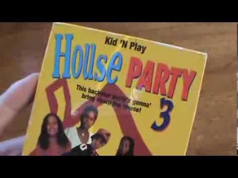House Party 3 Screener Preview VHS Kid 'n Play TLC Bernie ...