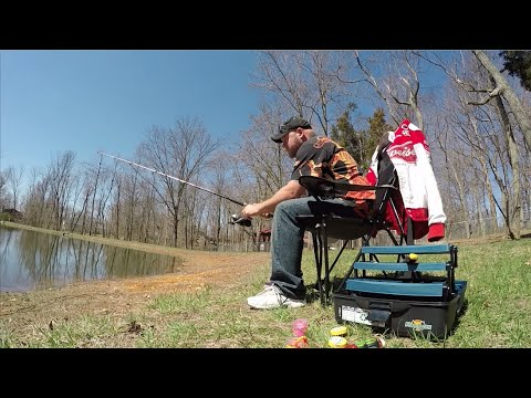 Fishing @ Crossroads Campground ~ Elizabethtown, Kentucky