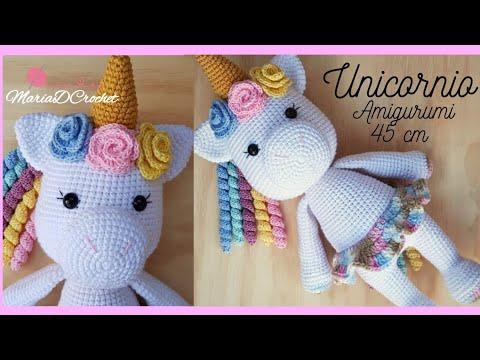 Sonajero Unicornio ~Patron gratuito amigurumi ~ Free Crochet ... | 360x480