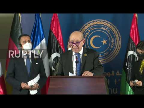 Libya: FM meets counterparts from France, Germany and Italy in Tripoli