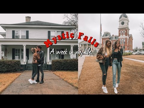 WE WENT TO MYSTIC FALLS!!  A WEEK IN MY LIFE