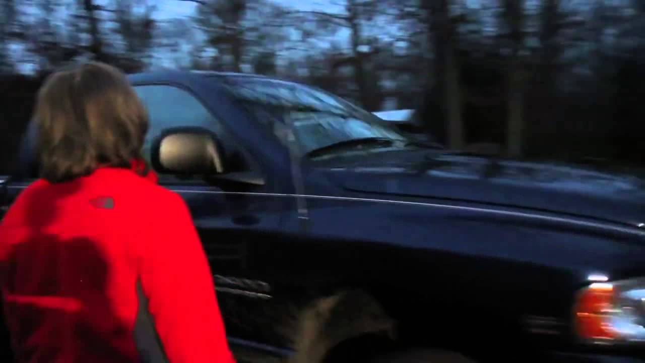 Dodge 2016 Truck >> Psycho Dad Powerslides Truck - YouTube