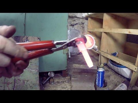 Как нагреть металл для ковки в домашних условиях